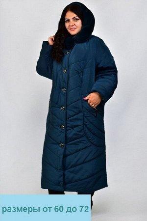 Куртка женская зимняя Оксана (60-72) волна