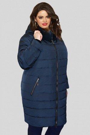 Куртка женская зимняя Натэлла 04 (60-72) синяя