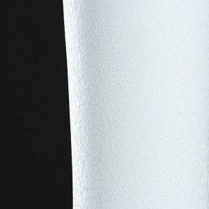 """Ваза напольная """"Труба"""". шёлк. белая. 74 см"""