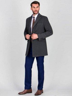 2062 M KNIT BLACK GREY/ Пальто мужское