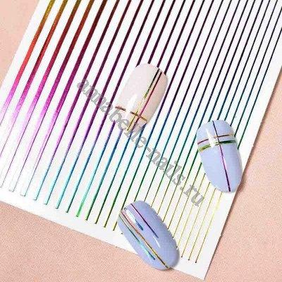 Гель-лаки, аксессуары для маникюра  — Дизайн для ногтей_фольга, самоклеющиеся ленты — Дизайн ногтей