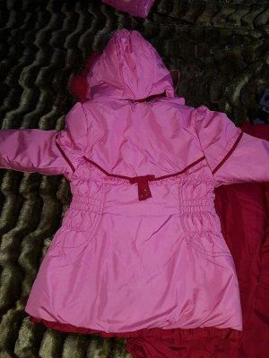 Нарядный зиминий комплект с подстежкой для девочки