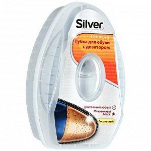 SILVER Губка-блеск дозатор силикона Антистатик 6мл