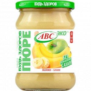 Пюре ябл.-банан. АВС 450г (6шт)