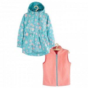 Куртка 3 в 1 для девочек