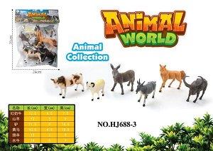Набор животных OBL806906 HJ688-3 (1/84)