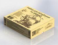 Выжигание. Набор для выжигания по дереву (аппарат, 12 досок) арт.01722