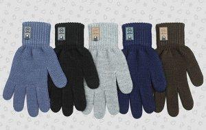 Перчатки Перчатки. Размер: 16 (9-10 лет). Состав: 70% акрил 30% шерсть. Подклад: Без подклада