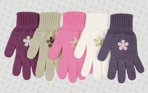 Перчатки Перчатки. Размер: 15 (7-8 лет). Состав: 100% Акрил. Подклад: Без подклада