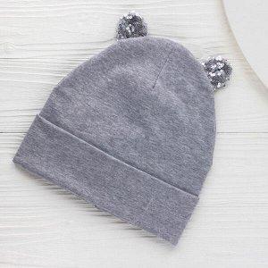 Шапка Шапка. Размер: 46-54. Отворот: шапка с отворотом. Состав: 95% хлопок 5% эластан. Подклад: двойной. Толщина: шапка тонкая
