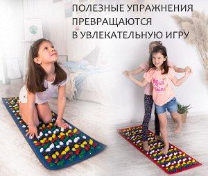 """Коврик массажный """"Ортопед"""" 100х40 см  (зеленый)"""