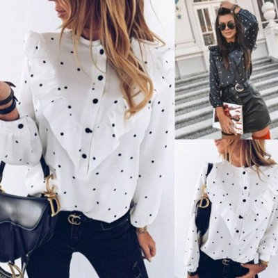 Легкая Женственность - 7   Одеваемся на осень !!!  — Блузки с длинным рукавом — Блузы
