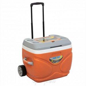 Изотерм. контейнер на колесах PRUDENCE 66л оранжевый TPX-3008-66-O PINNACLE