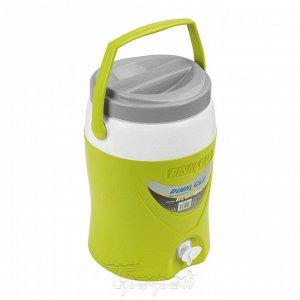 Изотерм. контейнер для жидкости Platino  8л зеленый TPX-2075-8-G PINNACLE