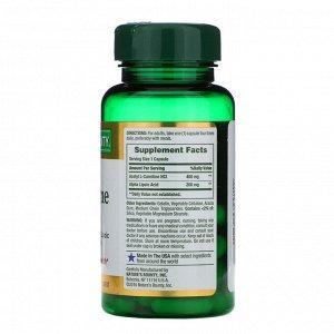 Nature&#x27 - s Bounty, Ацетил L-карнитин HCI, 400 мг, 30 капсул