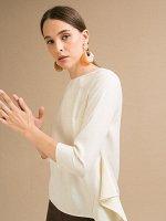 Блузка с драпировкой B2468/frai