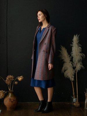 пальто Размерный ряд: 42-54; Состав ткани: шерсть45%, полиэстер55%; Длина: 93 см.; Сезон: Демисезон; Цвет: бордовый; Стиль: Повседневный; Фасон: Полуприлегающий; Ткань: Плотная; Рукав: Длинный рукав