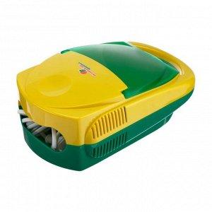 Ингалятор (небулайзер) CN-HT04 «Виста», компрессорный, 2-12 мл, 60 дБ, жёлто-зелёный