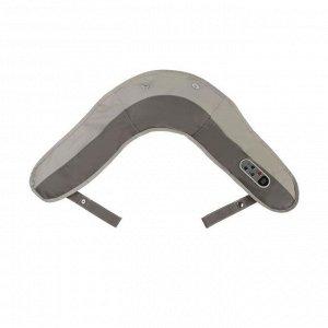 Массажёр для спины и шеи 9016, наплечный, пульт, 99 режимов, 220 В