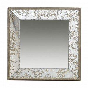 Зеркало настенное Dorthea винтажное 38,5*38,5*5 см