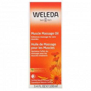 Weleda, Массажное масло для мышц, экстракт арники, 3,4 жидкой унции (100 мл)