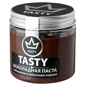 шоколадная паста Tasty с миндалем и кайенским перцем 200 г 1 уп.х 12 шт.