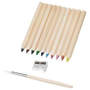 MÅLA МОЛА Цветной карандаш, разные цвета, 10 шт