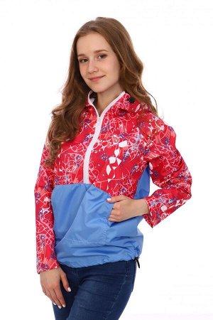 """Анорак Материал: курточная ткань Анорак это легкая куртка из водонепроницаемой ветрозащитной ткани. Ее особенность в том, что она одевается через голову. На полочке - карман """"Кенгуру"""".Капюшон, низ и"""