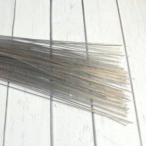 Проволока флористическая серебро 80 см 0,7 мм 50 шт