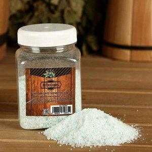 """Бурлящие кристаллы """"Добропаровъ"""" из персидской соли с эфирным маслом можжевельника, 350 гр"""