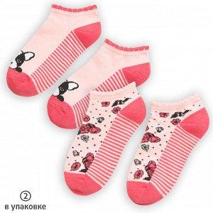 Носки для девочек (2 пар в кор.)