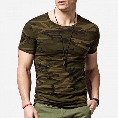 💥Обувь! Супер цены!🍁Одевайся вся семья!🍂Осень-Зима🔥😍  — Мужские майки и футболки от 99 рублей! — Футболки