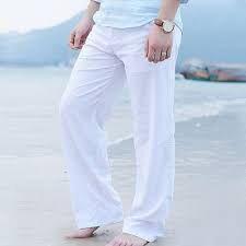 Хлопковые  белые штаны