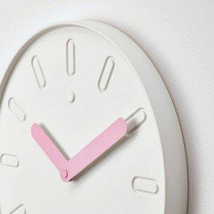 СЛИПСТЕН Настенные часы, белый35 см