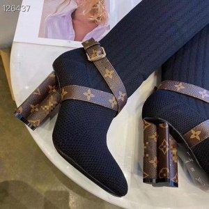 Ботфорты Верх текстиль