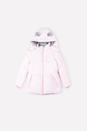 Куртка Цвет: розовый; Утеплитель: с утеплителем; Вид изделия: Изделия из мембраны; Рисунок: розовый; Сезон: Осень-Зима Зимняя куртка для девочки, на мягкой трикотажной подкладке с утеплителем SEE®  2