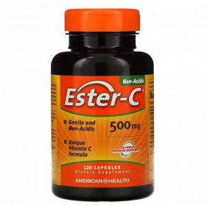 American Health, Ester-C, 500 мг, 120 капсул