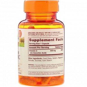 Sundown Naturals, Vitamin C, Timed Release, 500 mg, 90 Capsules