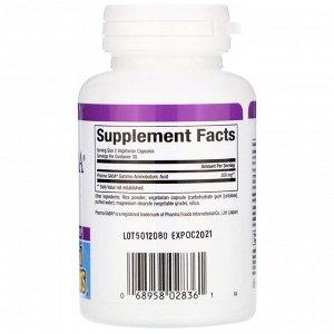Natural Factors, Stress Relax, Pharma GABA, 100 мг, 60 вегетарианских капсул