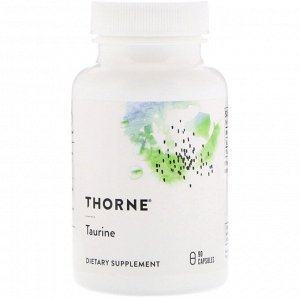 Thorne Research, Таурин, 90 капсул