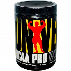 Universal Nutrition, BCAA Pro, 100 капсул