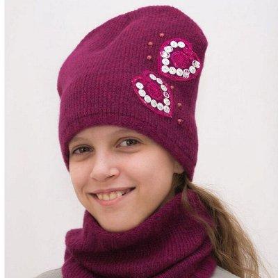 Lana - стильные шапки, комплекты для всей семьи! Новинки ОЗ — Шапки, шарфы для девочек — Головные уборы