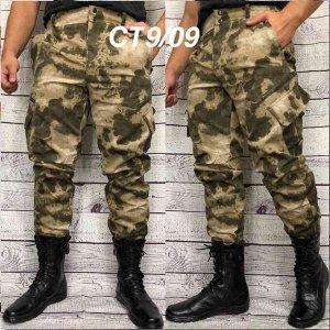 Мужские камуфляжные штаны горка на осень. Ткань мембрана