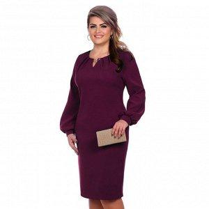 Платье женское «Клаудия», цвет слива, размер 46
