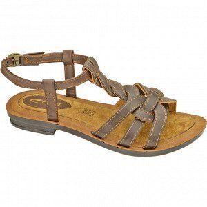 Туфли летние и сандалеты повседневные с верхом из искусст. кож женские