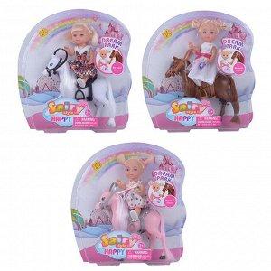 Кукла Defa Sairy Девочка на лошадке- пони, 3 вида в коллекции294
