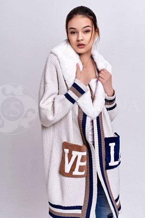 Кардиган LOVE White 95