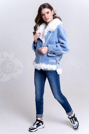 Куртка-косуха Кёрли голубой