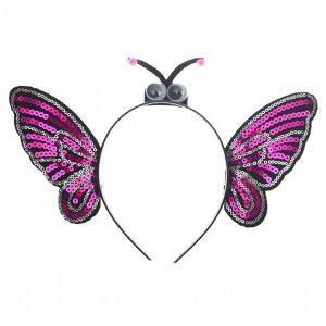 Карнавальный ободок «Бабочка»