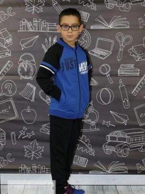 Костюм для мальчика 9853 (Куртка, Брюки) синий